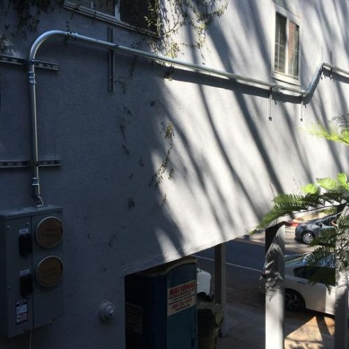 INSTALL 200 AMPS 2 METER SECTION-LOS ANGELES CA